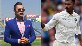 Hardik Pandya May Not be Seen in Test Cricket For a Long While - Aakash Chopra